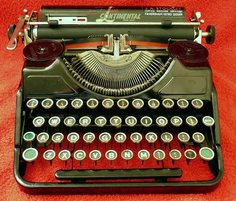 02271b031696b The Typewriter Man - Typewriter of the Month